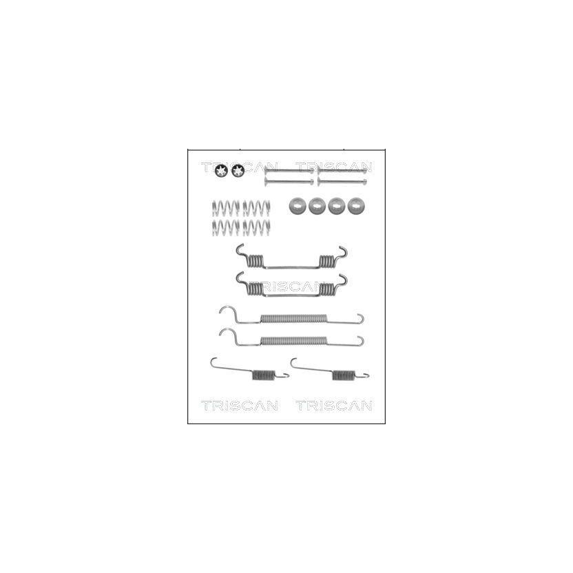 TRISCAN Zubehörsatz, Bremsbacken