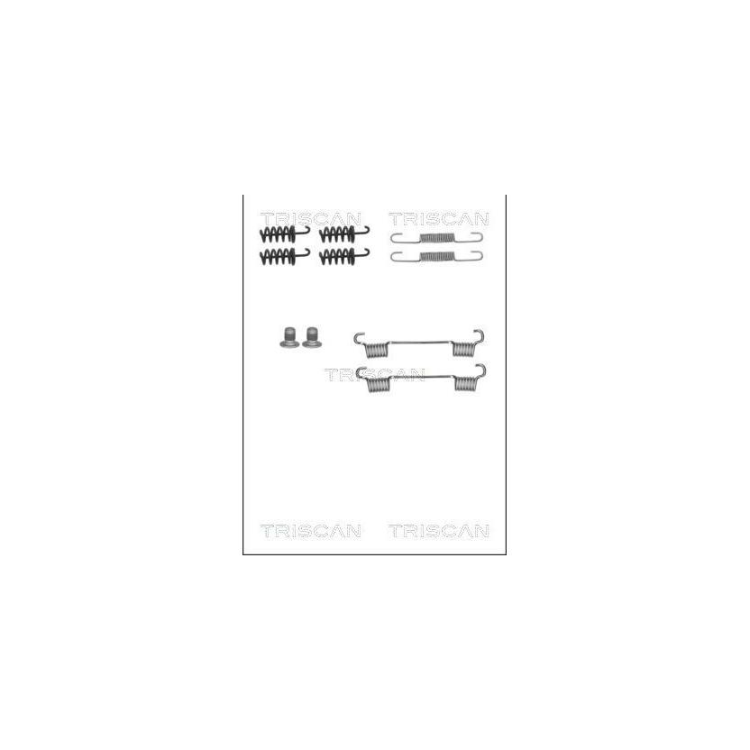 TRISCAN Zubehörsatz, Feststellbremsbacken