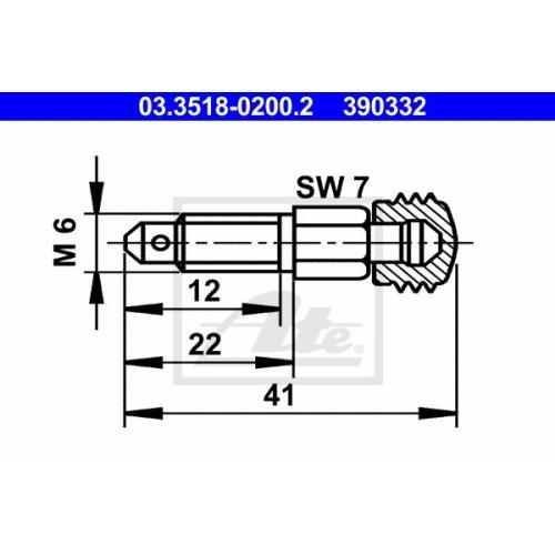 ATE Entlüfterschraube/-ventil