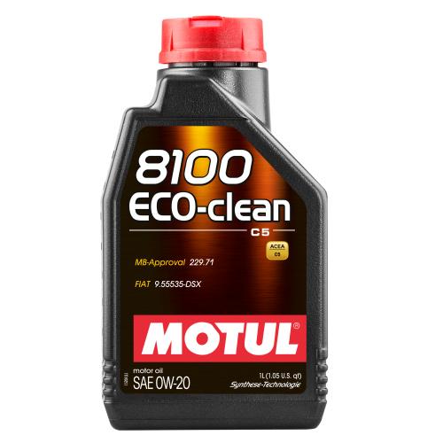 MOTUL Motoröl 8100 ECO-CLEAN 0W20